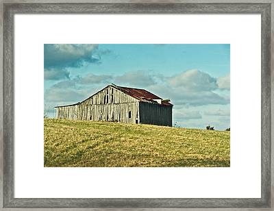 Barn In Ill Repir Framed Print by Douglas Barnett