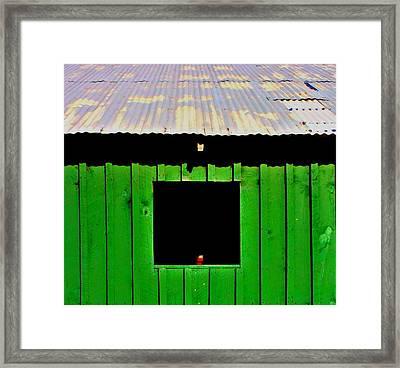 Barn Framed Print by Jill Tennison