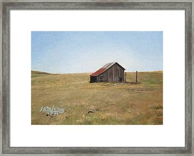 Barn Framed Print by Joshua Martin