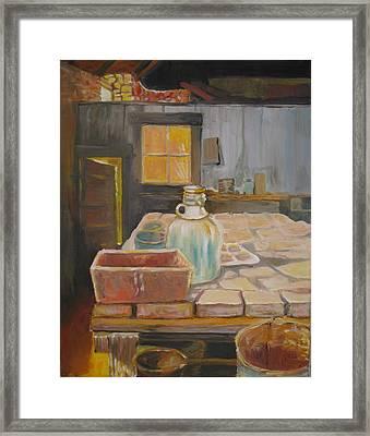 Barn Framed Print by Julie Todd-Cundiff