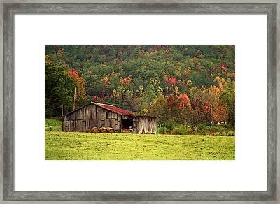 Barn North Carolina 1994 Framed Print