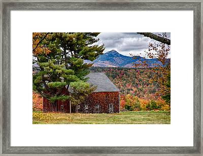 Barn Number Three Framed Print