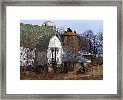 Barn On 29 Framed Print