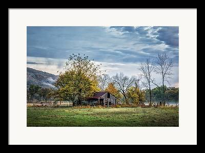 Boxley Valley Framed Prints