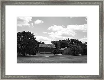 barn scene No.2 Framed Print by Tom Druin