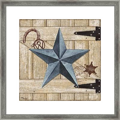 Barn Star II Framed Print