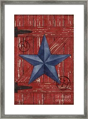 Barn Star - Vertical Framed Print