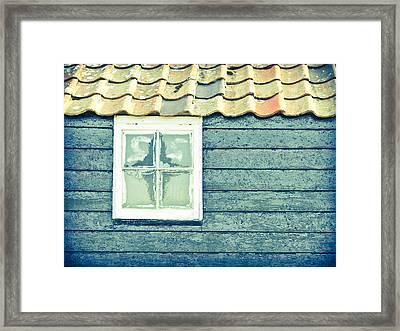 Barn Widnow Framed Print