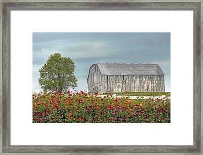 Barn With Charm Framed Print