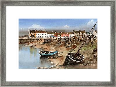 Barna Village, Galway Framed Print