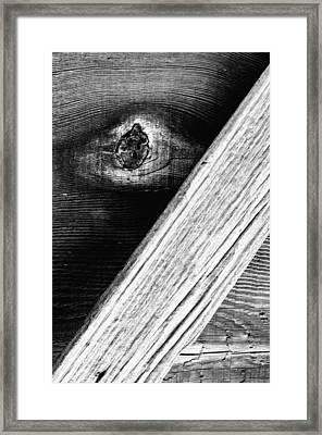 Barnboard Framed Print