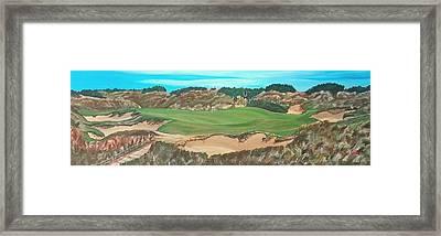 Barnbougle Dunes, #7, Doak Course Framed Print
