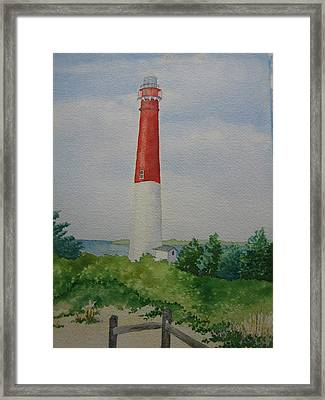 Barnegat Light Framed Print