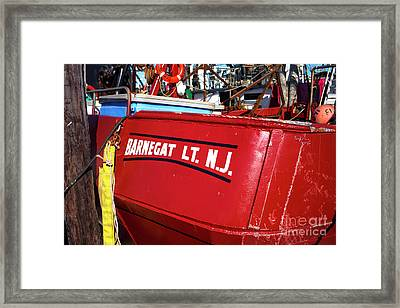 Framed Print featuring the photograph Barnegat Light by John Rizzuto