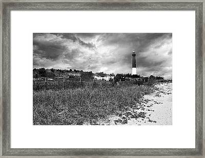 Barnegat Lighthouse Framed Print