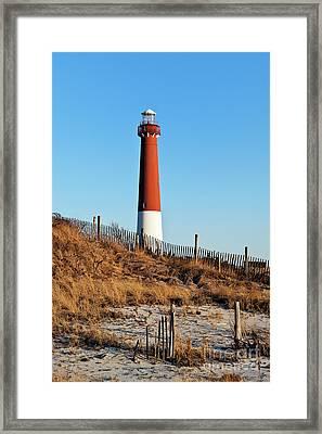 Barnegat Lighthouse Nj Framed Print by John Greim