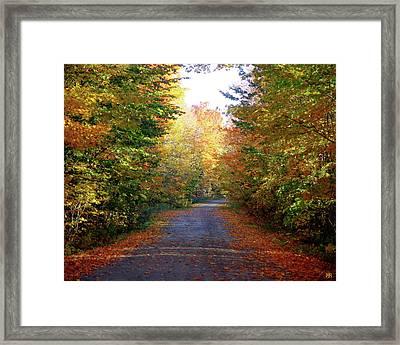 Barnes Road - Cropped Framed Print