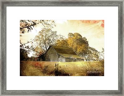 Barning Framed Print