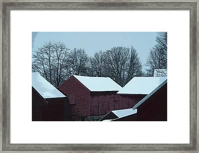Barnscape Framed Print