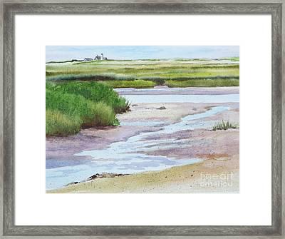 Barnstable Marsh Framed Print