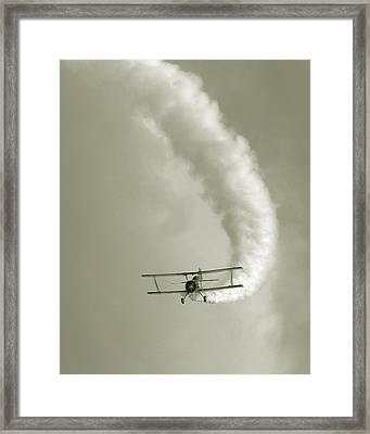 Barnstormer Framed Print by David April