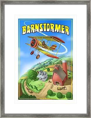 Barnstormer Framed Print