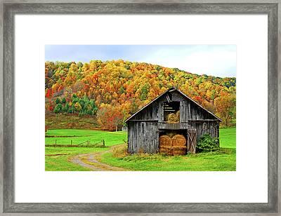 Barntifull Framed Print by Dale R Carlson