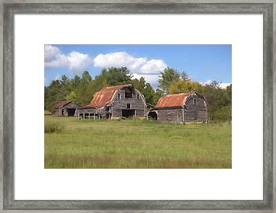 Barnville, Usa Framed Print
