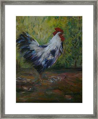 Barnyard Framed Print by Gloria Smith