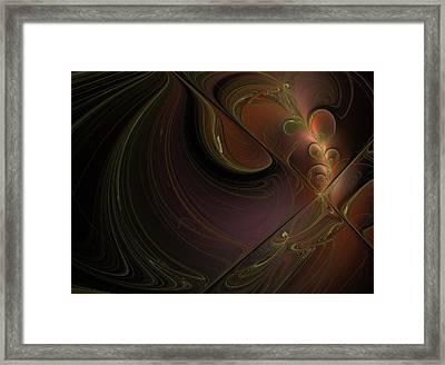 Barocco Framed Print by Elena Ivanova IvEA