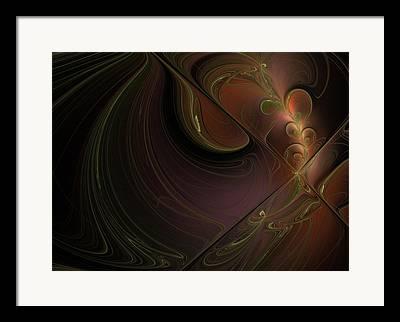 Bordo Digital Art Framed Prints