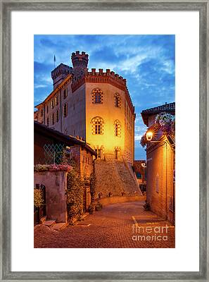 Framed Print featuring the photograph Barolo Morning by Brian Jannsen