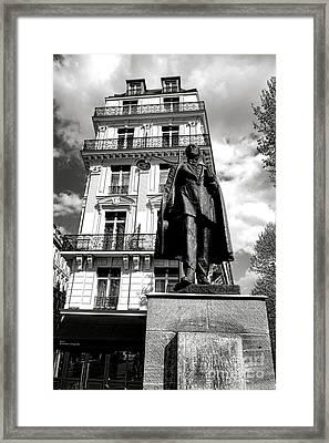 Baron Hausmann Framed Print by Olivier Le Queinec