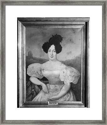 Baroness De Pontalba Framed Print