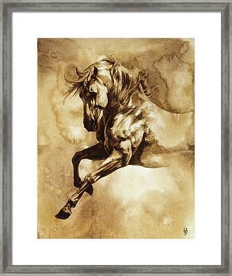 Baroque Horse Series IIi-i Framed Print