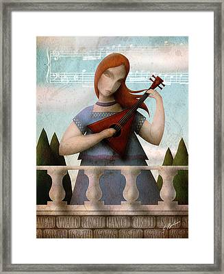 Baroque In Heart Framed Print