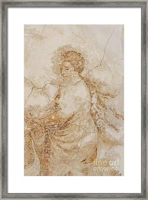 Baroque Mural Painting Framed Print by Michal Boubin