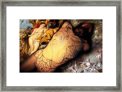 Framed Print featuring the photograph Baroque by Sandro Rossi