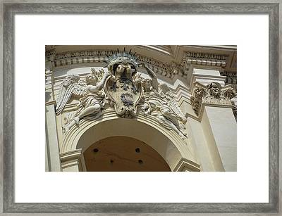 Baroque Texture Framed Print by JAMART Photography