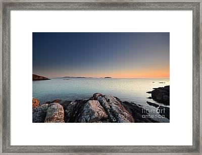 Barra Views Framed Print by Nichola Denny