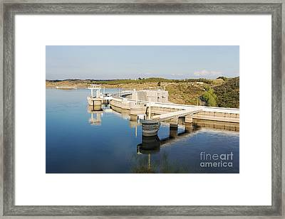 Barragem Do Alqueva Framed Print by Compuinfoto