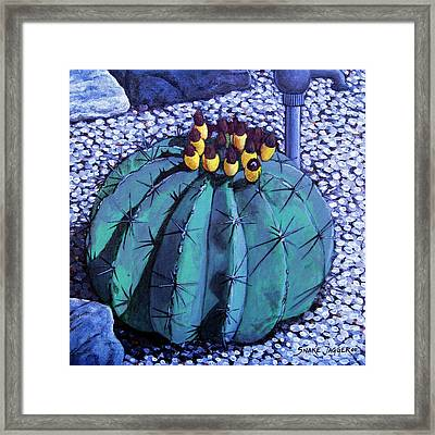 Barrel Buds Framed Print by Snake Jagger