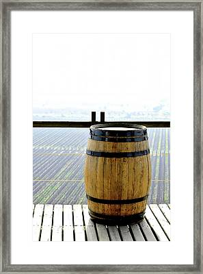 Barrel Framed Print by Fernando Lopez Lago