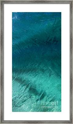 Barrel Swirl  -  Triptych  Part 3 Of 3 Framed Print by Sean Davey