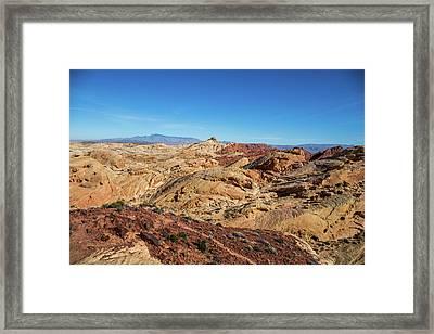 Barren Desert Framed Print