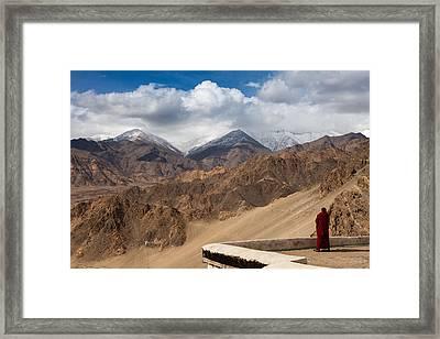 Barren Himalayas Framed Print