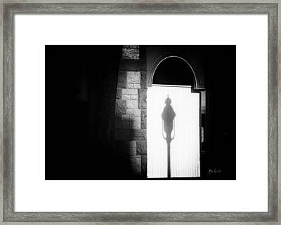 Barristers Window Framed Print by Bob Orsillo