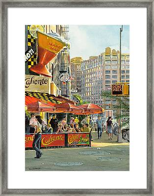 Barrow And Bleecker Framed Print