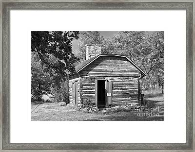 Barrs Cabin Framed Print by Fred Lassmann