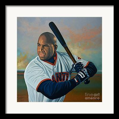 Barry Bonds Framed Prints